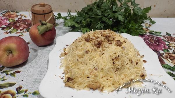 Слоеный салат «Любовница»: классический рецепт, очень вкусный
