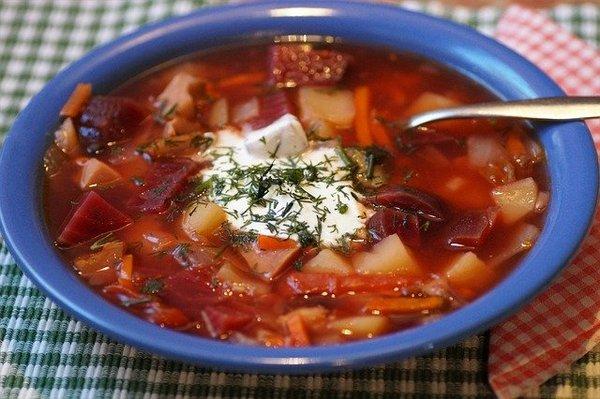 Борщ по-украински самый вкусный: 7 классических простых рецептов с фото плюс еще 5 разновидностей борща