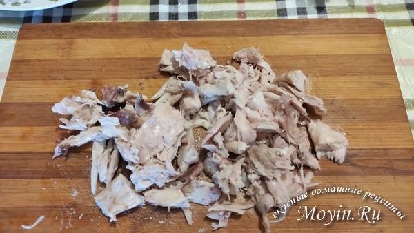 порвать мясо