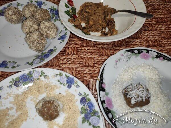 Конфеты из сухофруктов, орехов и нута своими руками: вкусно и просто
