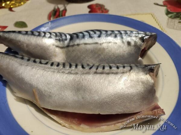 очистить рыбу